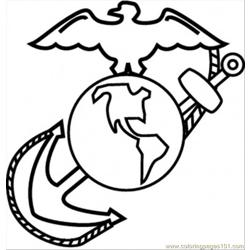 Earth And Dove Free Coloring Page for Kids