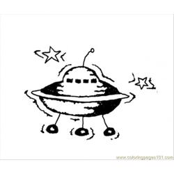 Moon Research Vehicle Free Coloring Page for Kids