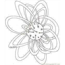 Planet Hi Bd coloring page