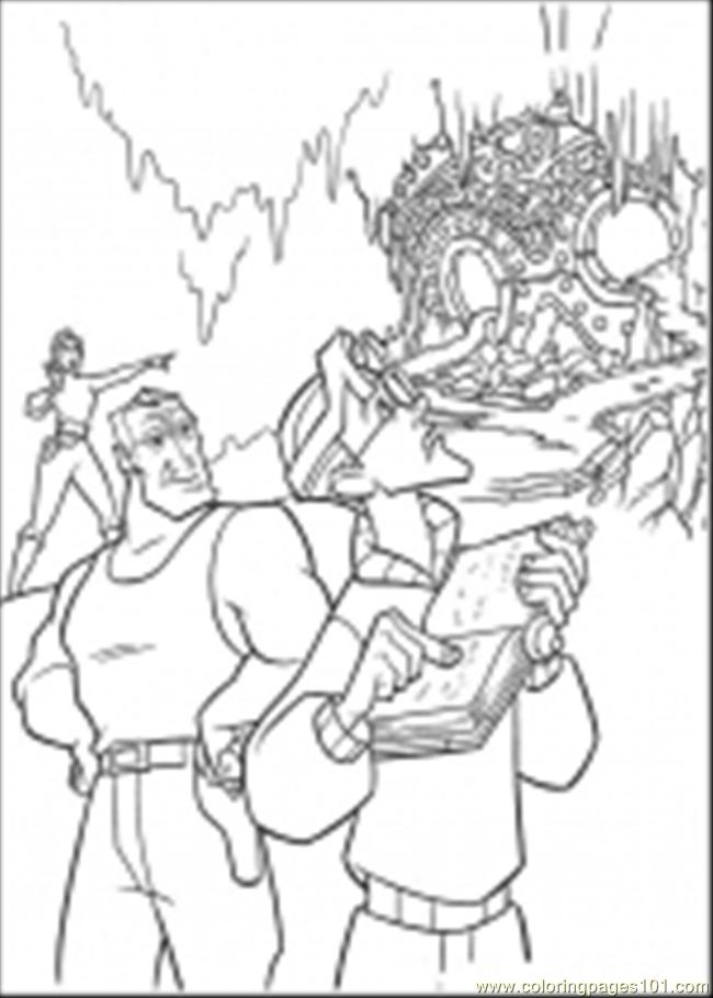 Atlantis Coloring Pages Coloring Page