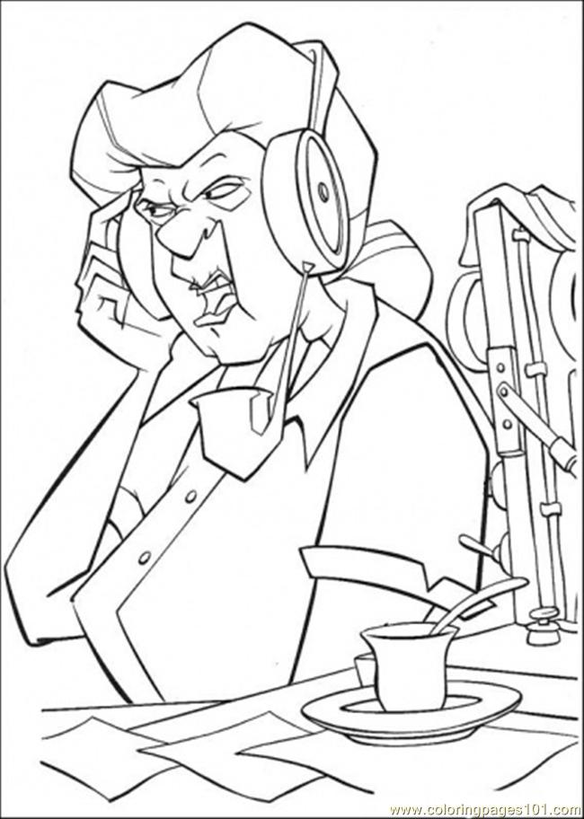 Asnwering The Call Coloring Page