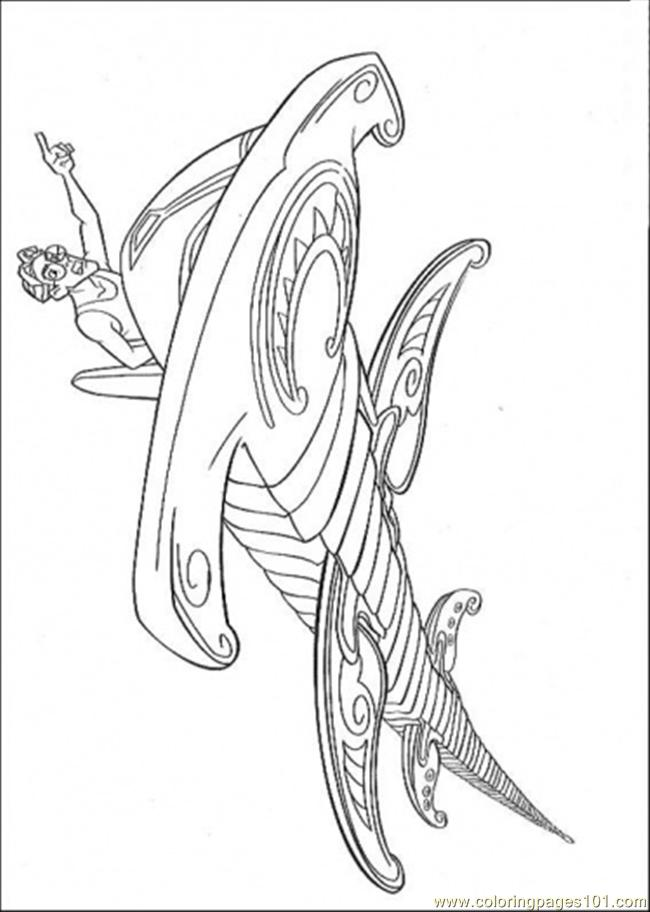 Atlantis Action 1 Coloring Page