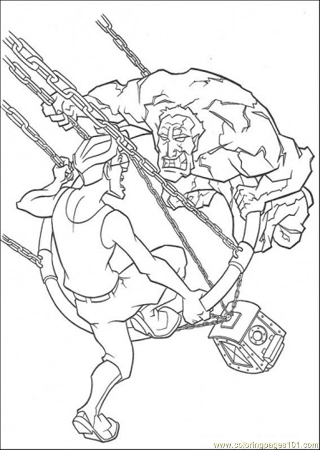 In The Battle Coloring Page