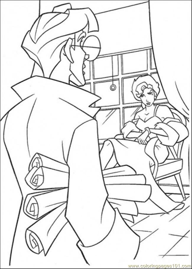 The Boy Bring Lot Of Paper Coloring Page
