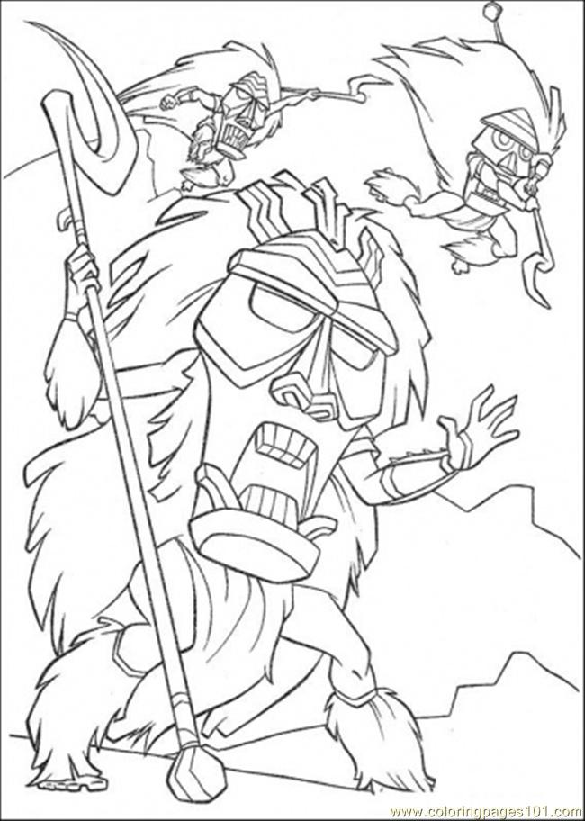 They Are Angry Coloring Page