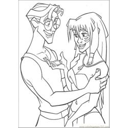Happy Together Free Coloring Page for Kids