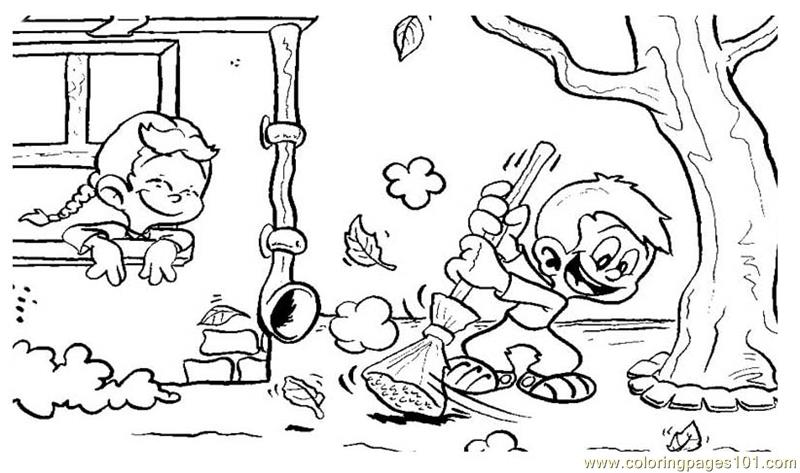 Autumn Coloring Page Free Autumn Coloring Pages Coloringpages101 Com