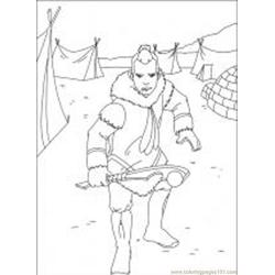 Avatar 47 M Free Coloring Page for Kids