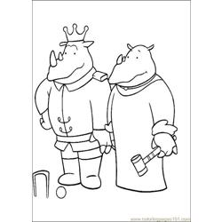Babar Coloring Pages 018