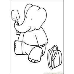 Babar Coloring Pages 024