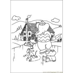 Babar Coloring Pages 030