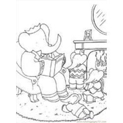 Babar3 M coloring page