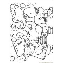 Babar5 M coloring page