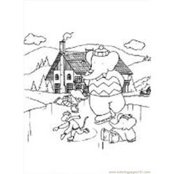 Babar7 M coloring page