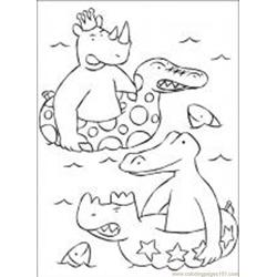 Babar9 M Free Coloring Page for Kids