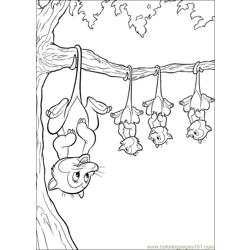 Bambi4 Free Coloring Page for Kids