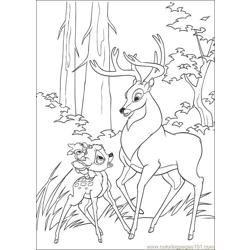 Bambi2 24 coloring page