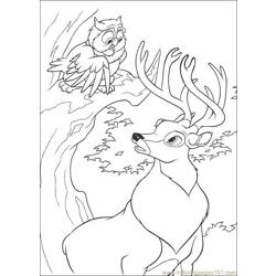 Bambi2 25 coloring page