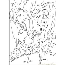 Bambi2 26 coloring page