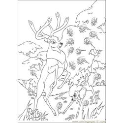 Bambi2 27 coloring page