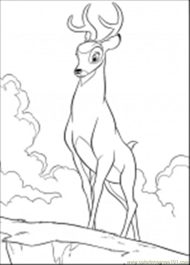Bambi Coloring Pages 29 Coloring Page