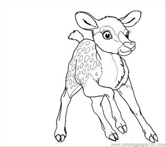 Bambi11 Coloring Page