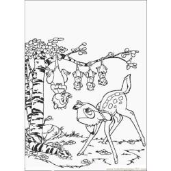Bambi Coloring Pages 003