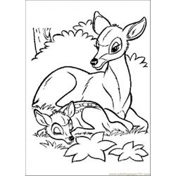 Bambi And Its Mom