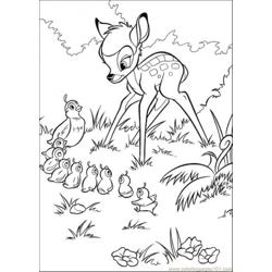 Bambi And The Pheasant