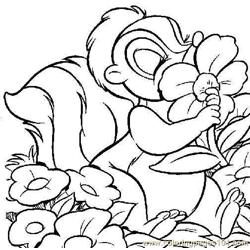 Colorflower Free Coloring Page for Kids
