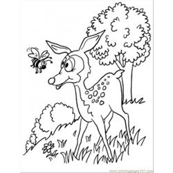 I In The Forest Coloring Page
