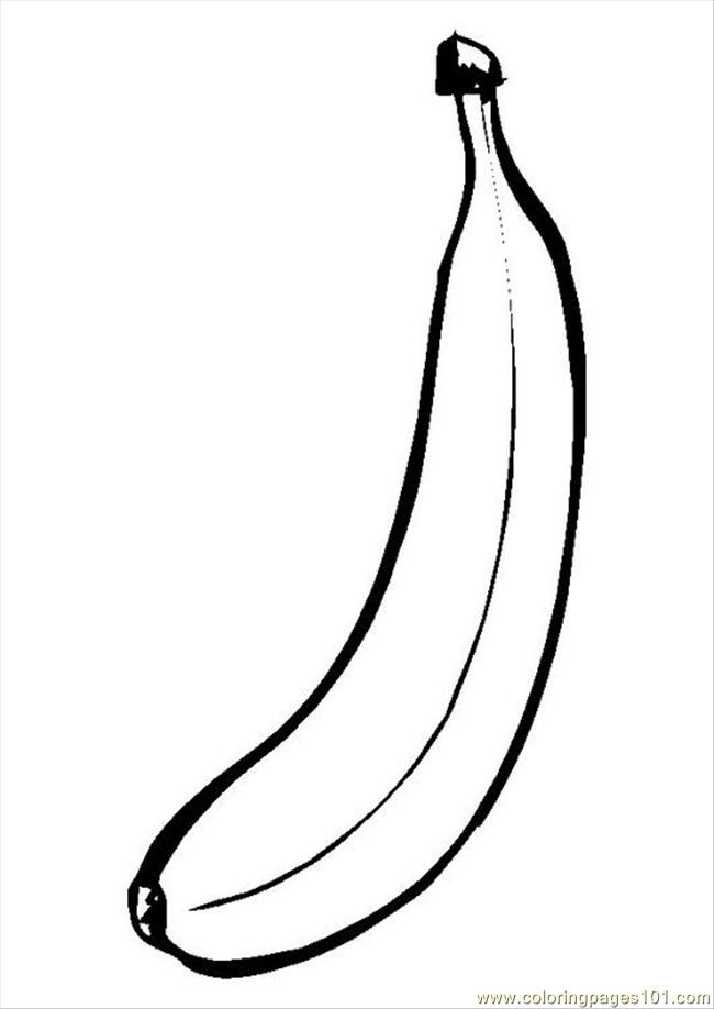 71 Ures Pages Photo Banana P9550 Coloring Page Free Bananas