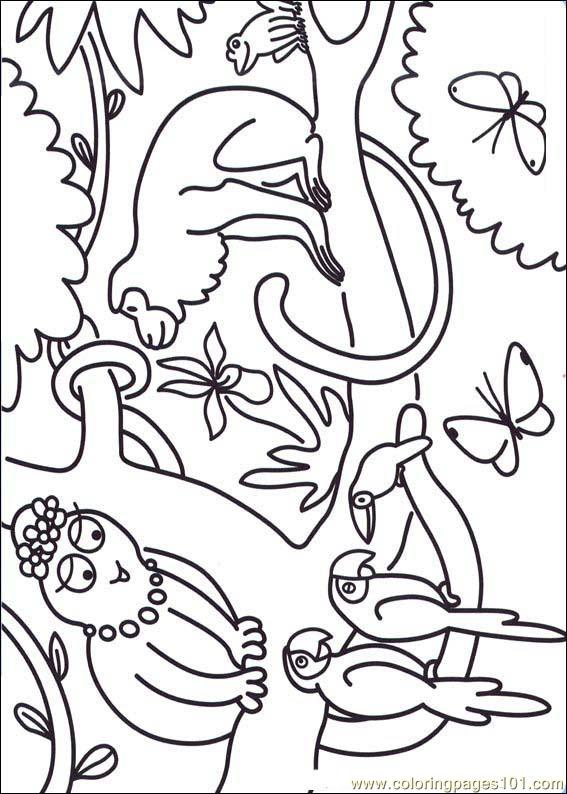 Barbapapa 04 Coloring Page