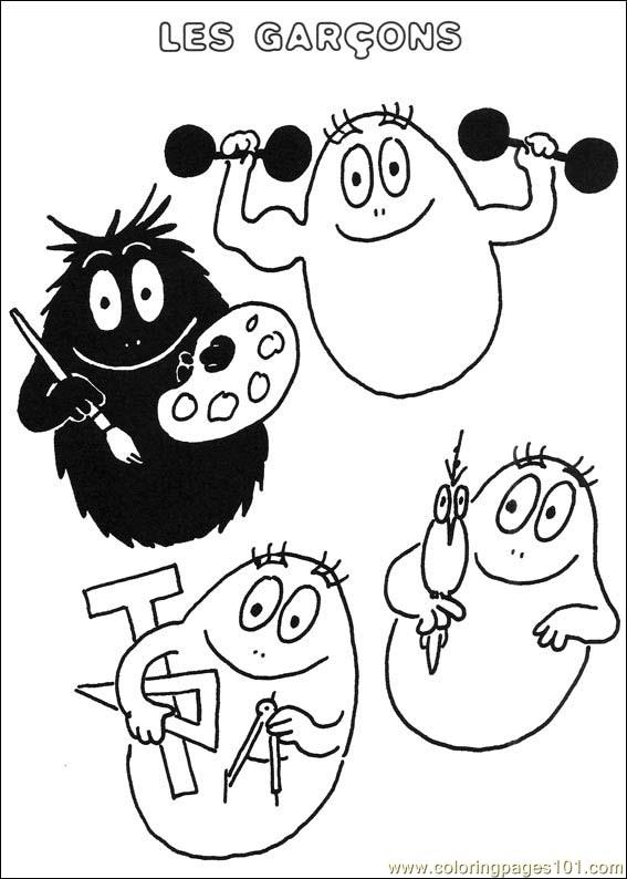 Barbapapa 29 Coloring Page