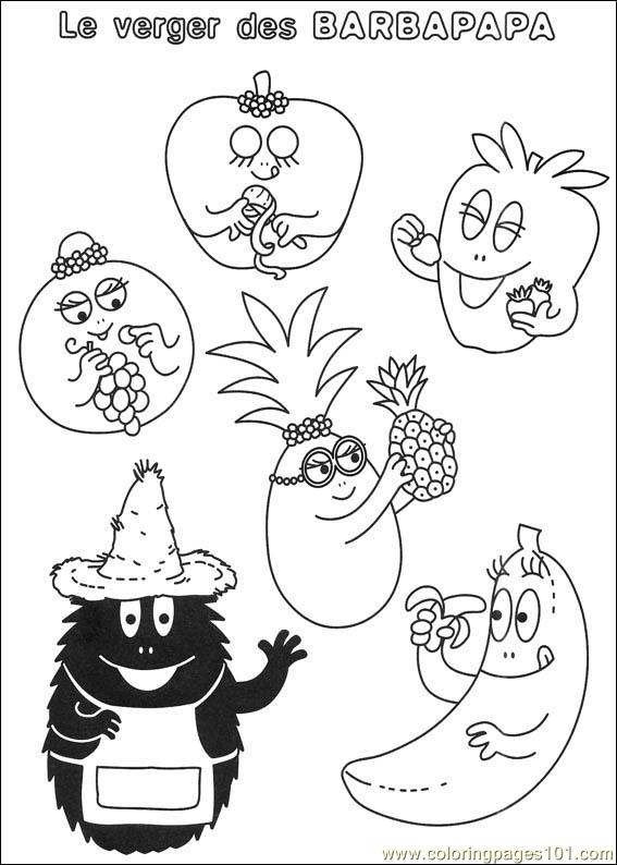 Barbapapa 40 Coloring Page