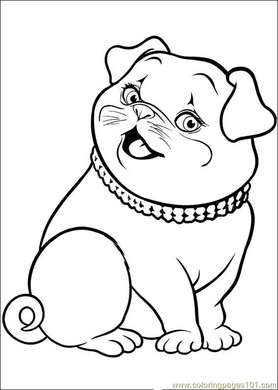 Barbie Thumbelina 25 Coloring Page