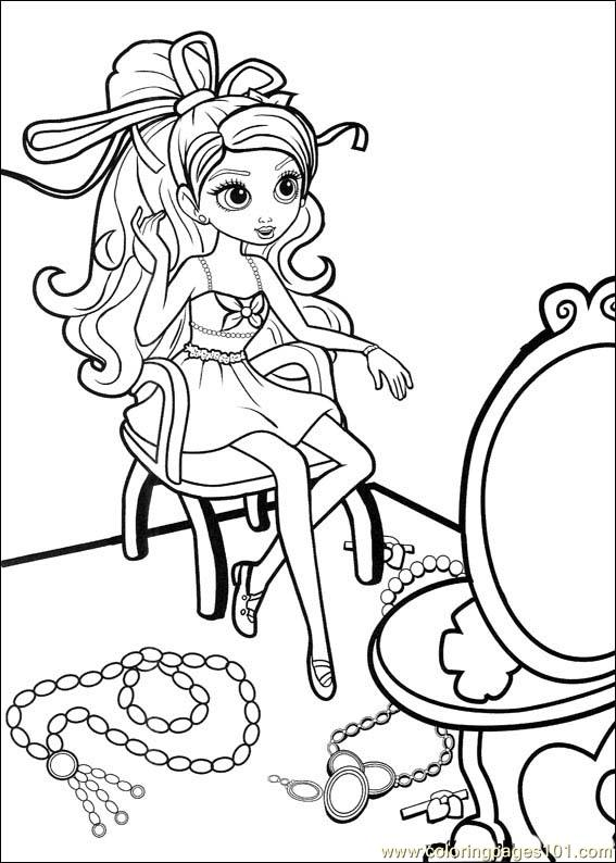Barbie Thumbelina 27 Coloring Page