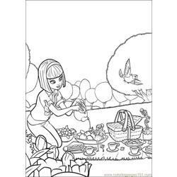Coloring Barbie Thumbelina 013