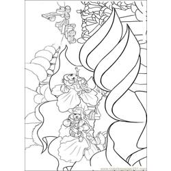 Barbie Thumbelina 1 Free Coloring Page for Kids