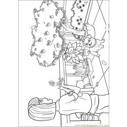 Barbie Thumbelina 8 Free Coloring Page for Kids