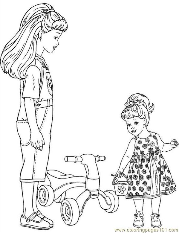001 Barbie 79 Coloring Page Free Barbie Coloring Pages