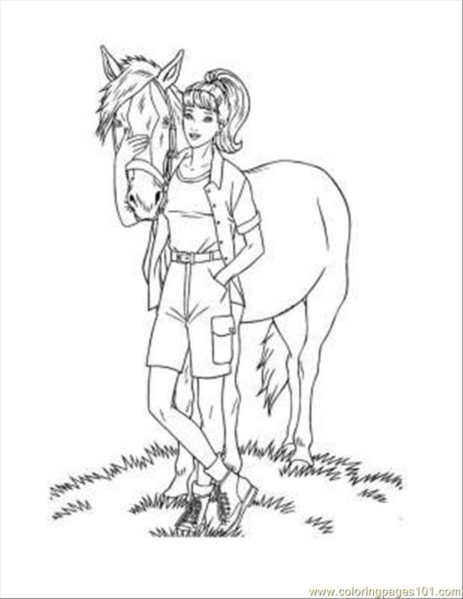 Barbie34 Coloring Page