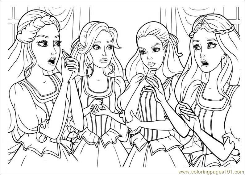 Barbie and the three musketeers coloring page free barbie coloring pages - Photo de violetta a imprimer gratuit ...