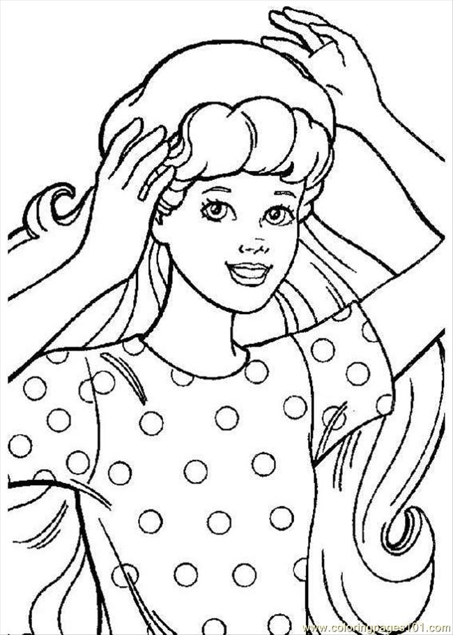 Barbie5 Coloring Page