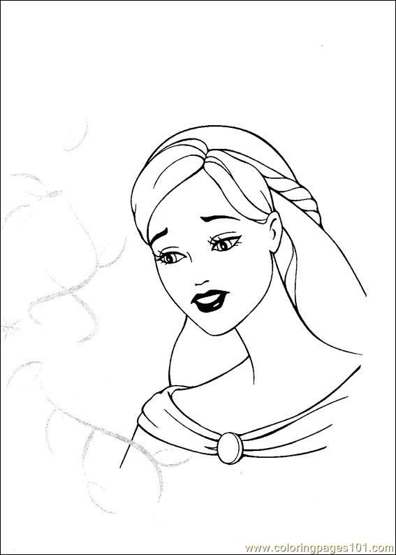 Barbie Magic Pegasus 3 Coloring Page