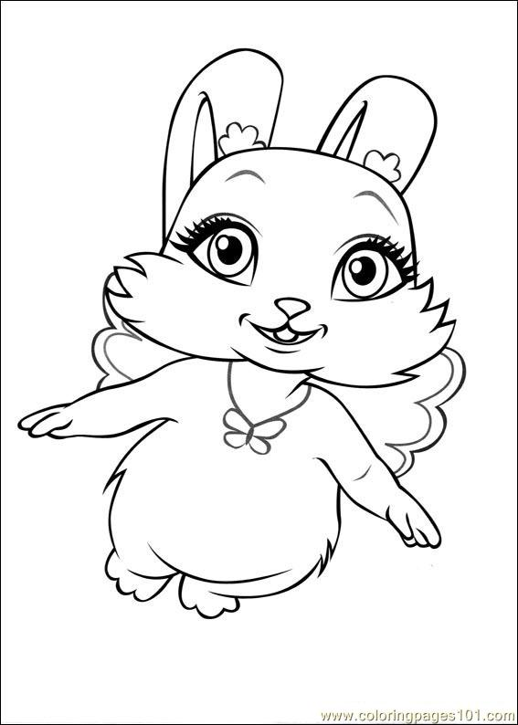 Barbie Mariposa 7 Coloring Page