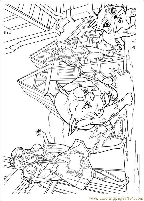 Barbie Coloring Pages Free Download : Barbie musketeers coloring page free