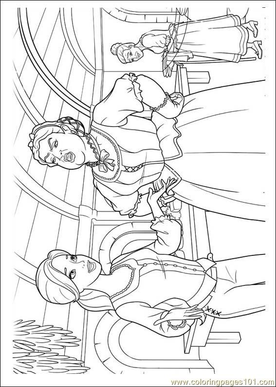 Barbie Musketeers 04(1) Coloring Page