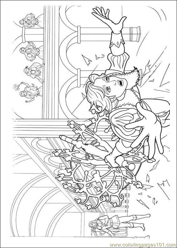 Barbie Musketeers 06(1) Coloring Page