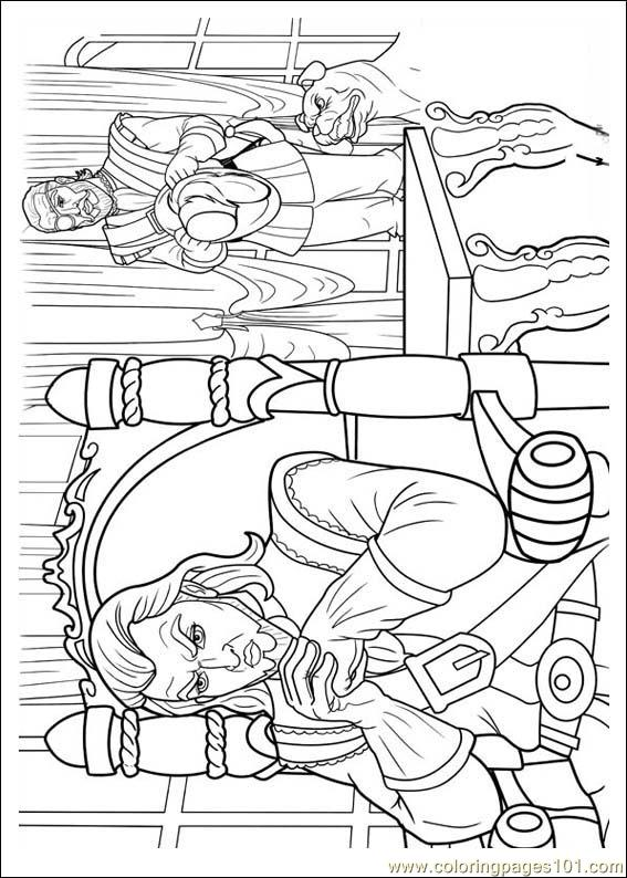 Barbie Musketeers 08(1) Coloring Page